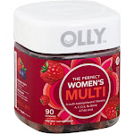 Olly Women's Multivitamin Gummies, Blissful Berry - 90 count
