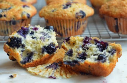 Blueberry Muffin Day and Enjoy