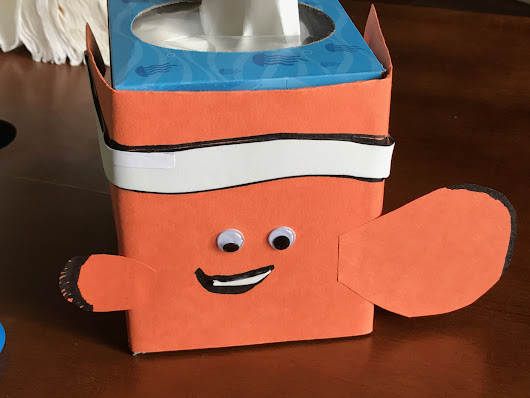 Kleenex® Finding Dory Tissue Box Designs + Nemo Tissue Cozy - Girl Gone Mom