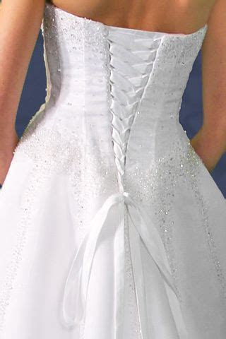 Corset Kit Makes Wedding Gown Fit Perfect with Lace up
