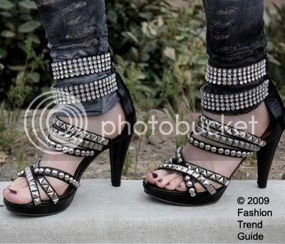 Jeffrey Campbell Mel studded sandals