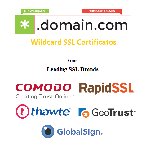 Wildcard SSL Certificate at lowest price from CheapSSLShop.com