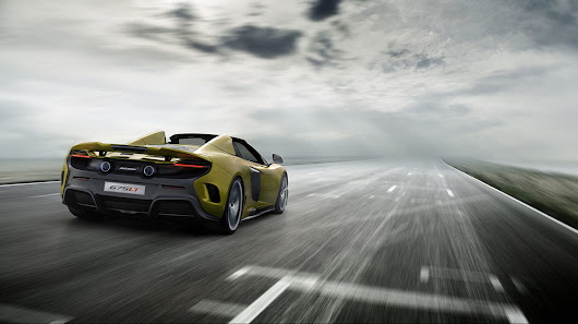 Now available: McLaren 675LT Spider - Supercar Hire Europe - Colcorsa