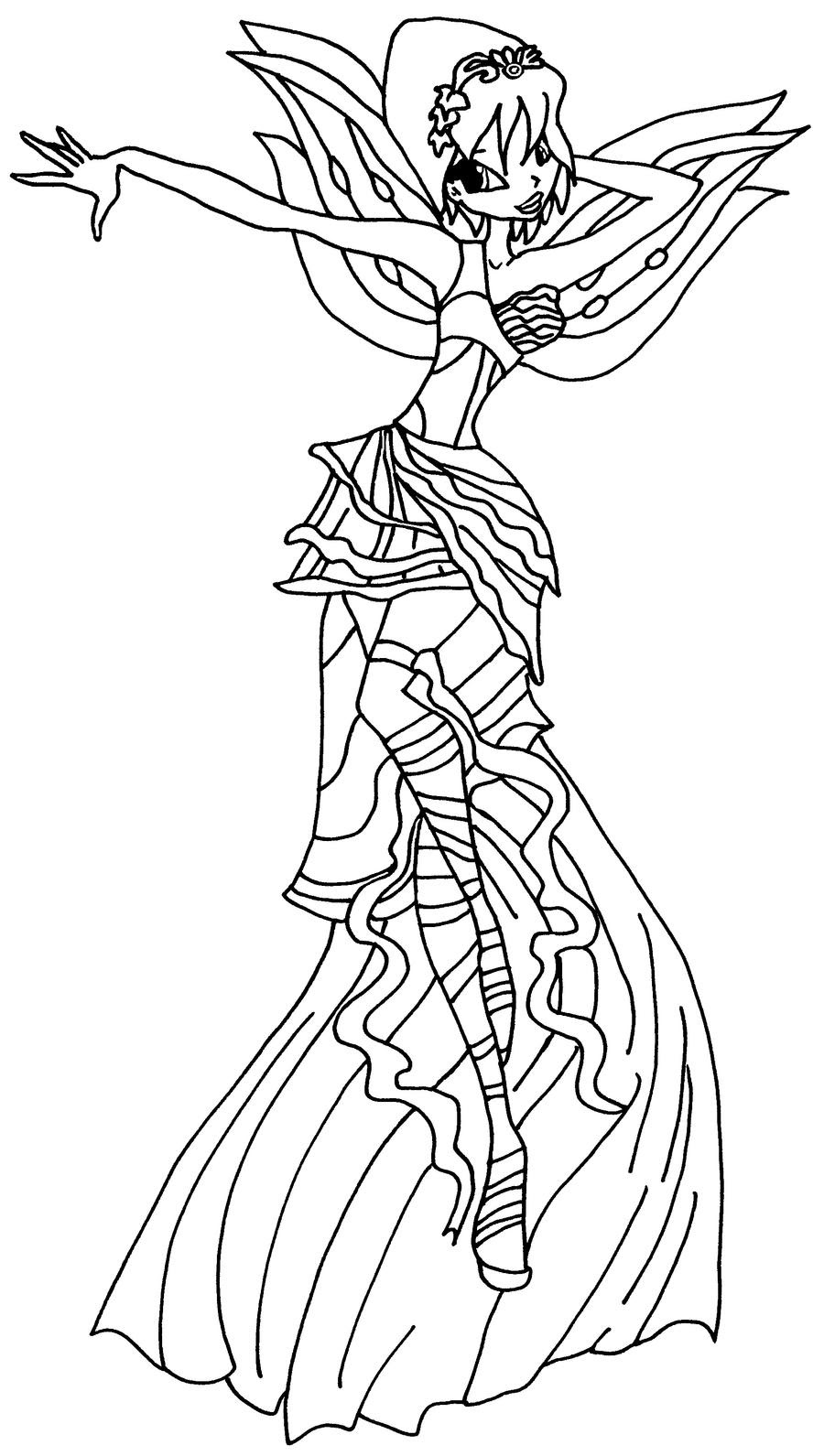 winx club coloring pages lovix photo 27