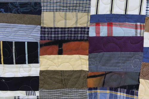 Custom Memory Quilt Made From Clothing