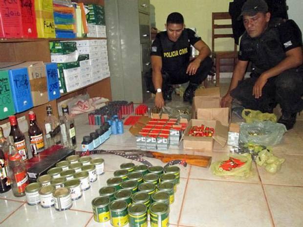 Colas de sapateiro (Foto: Ascom/ Polícia Civil)