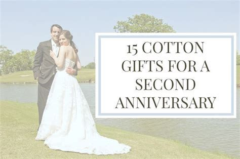 Cotton Gifts For A 2nd Anniversary   ELLE TALK BLOG