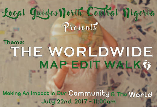 9 DAYS TO THE WORLDWIDE MAP EDIT WALK