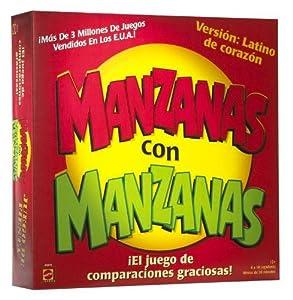 Amazon.com: MANZANAS con MANZANAS - El Juego De Comparaciones ...
