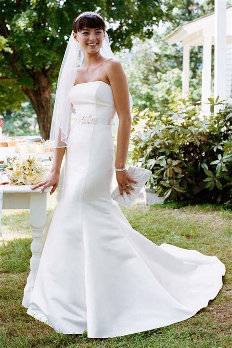 David's Bridal David?s Bridal Wg9871 Size 4 Size 3 Wedding