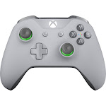 Microsoft Wireless Controller for Xbox One and PC - Green/Gray