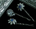 Something Blue Vintage Hairpins