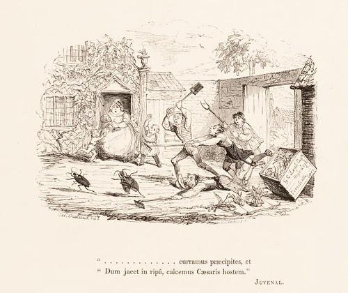 George Cruikshank vignette cartoon