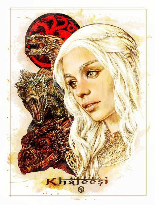 Khaleesi - by Adriana Melo Prints available at the artist's shop
