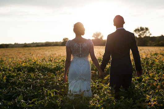 Eco-Friendly Farm Wedding | Elburn, IL | Melanie and Marco