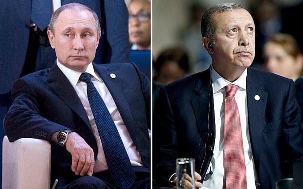 Hình ảnh Ông Putin quyết không gặp Tổng thống Thổ Nhĩ Kỳ sau vụ bắn hạ máy bay số 1