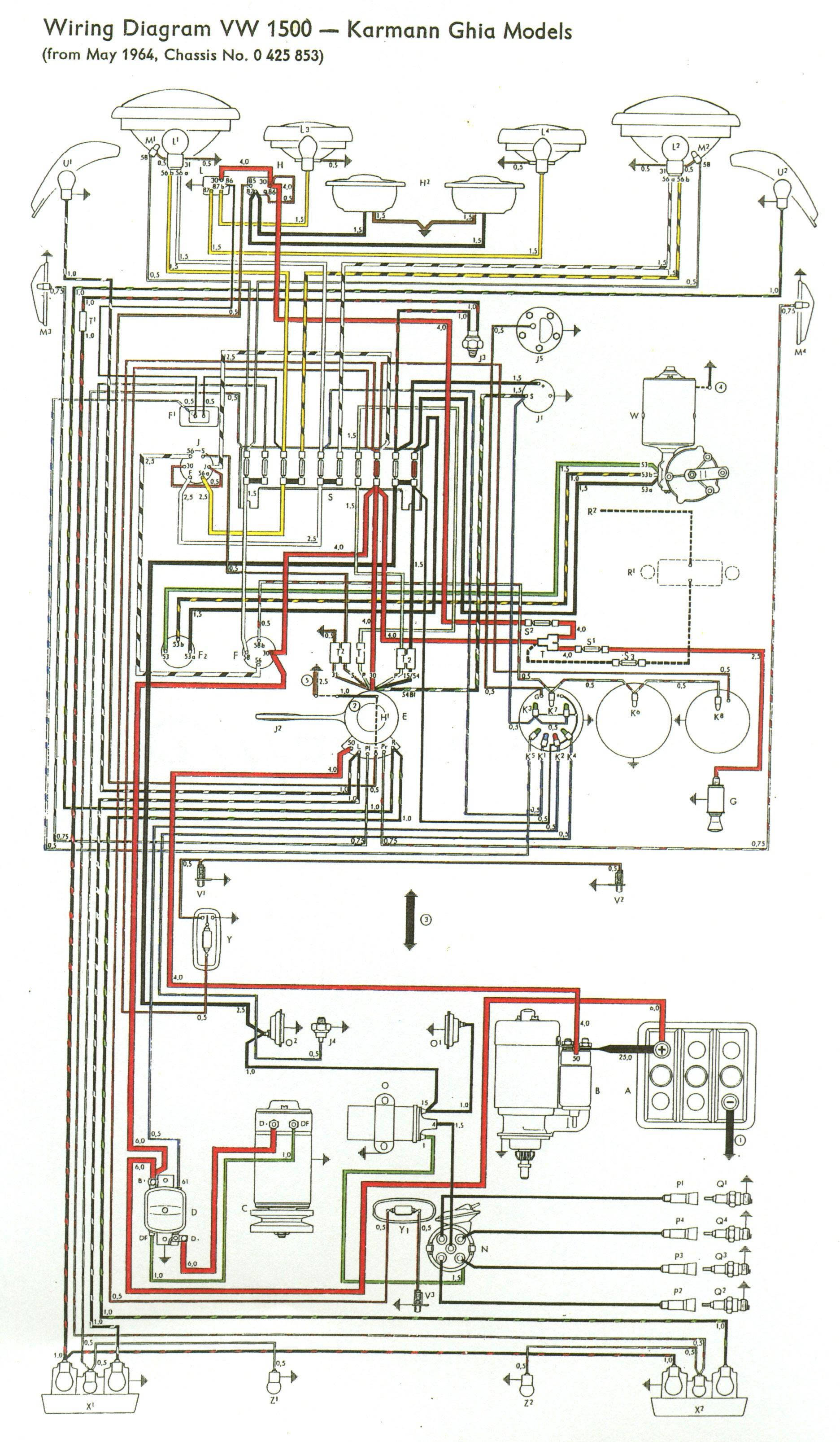 73 Vw Beetle Wiring Diagram - Wiring Diagram Networks