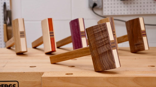 Make A Mallet From Scrap Wood | How To - Woodworking / DIY