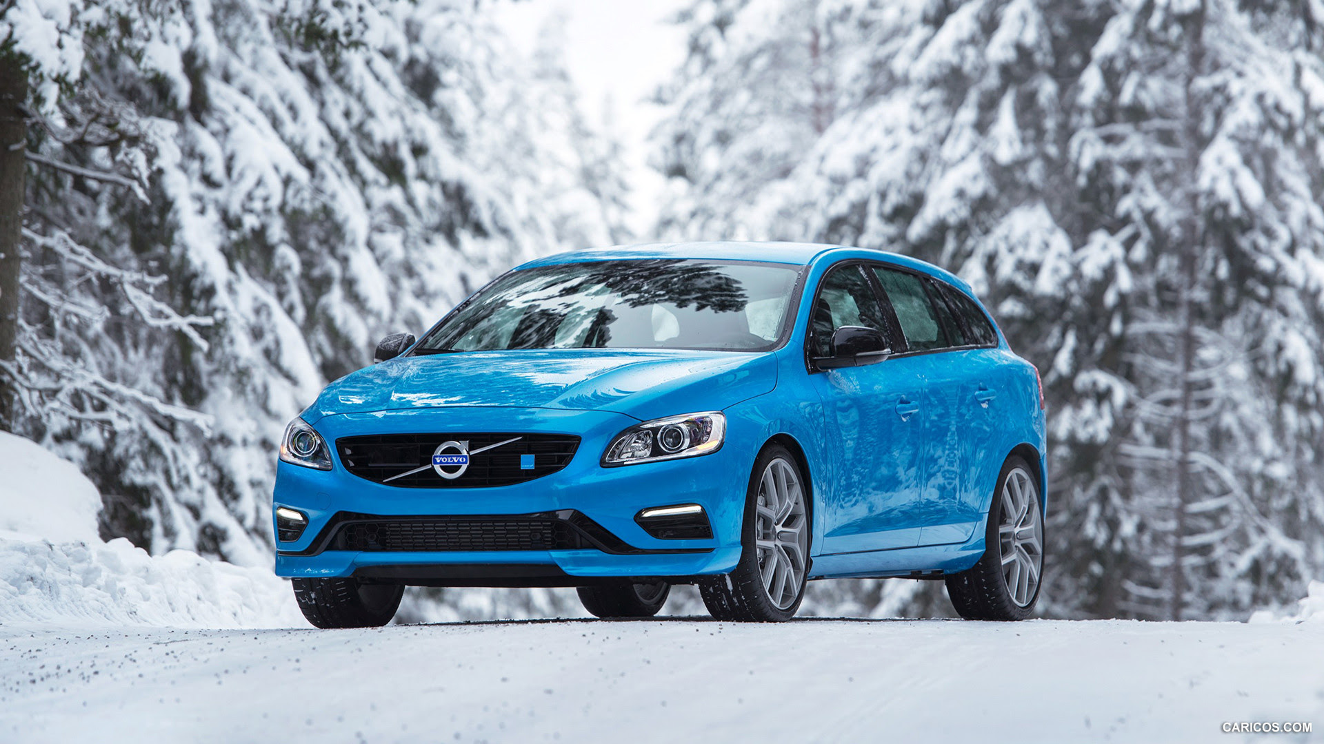 2016 Volvo V60 Polestar  Front  HD Wallpaper 13