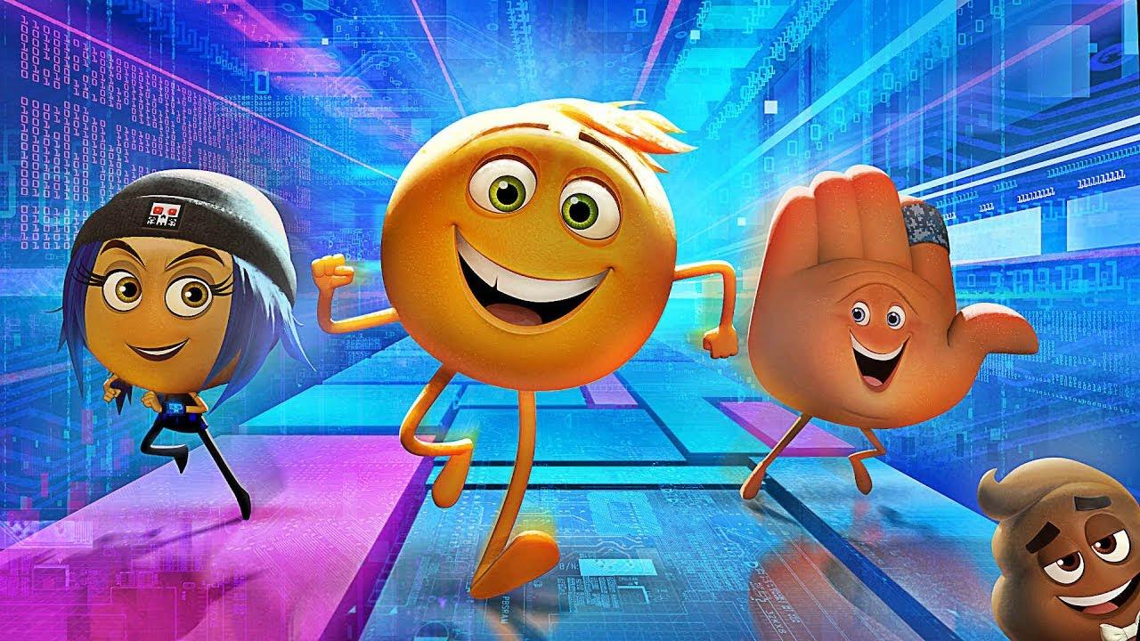 Resultado de imagem para emoji the movie 2017 wallpaper