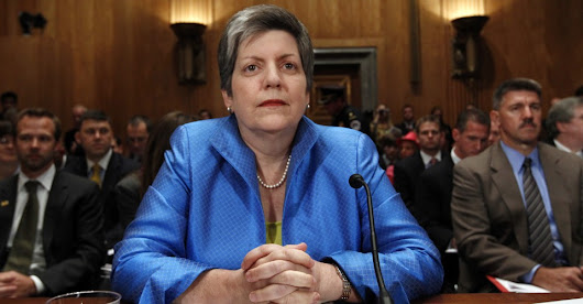 Janet Napolitano Is Very Familiar With the Word 'First'