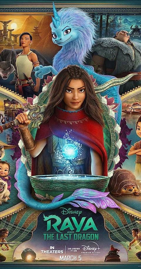 Raya and the Last Dragon(2021) 480p 720p 1080p WebRip English Full Movie