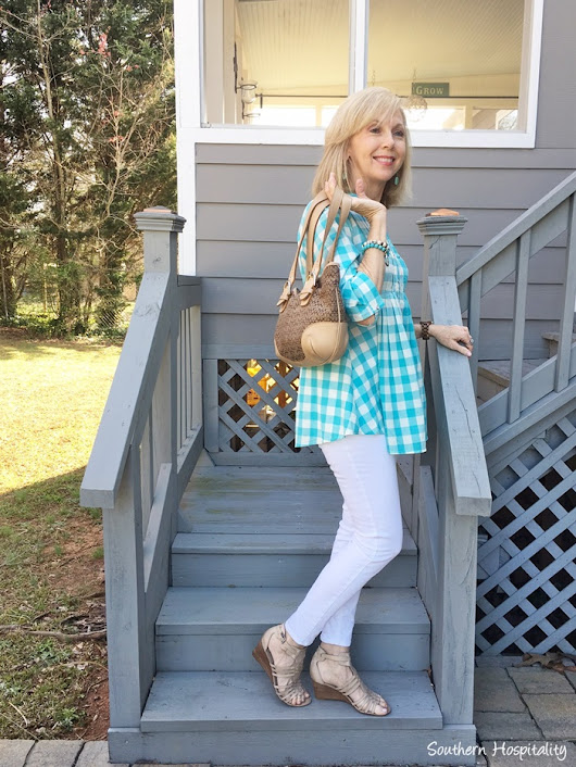 Fashion over 50: Spring Fashion Finds & {$250 Giveaway} - Southern Hospitality