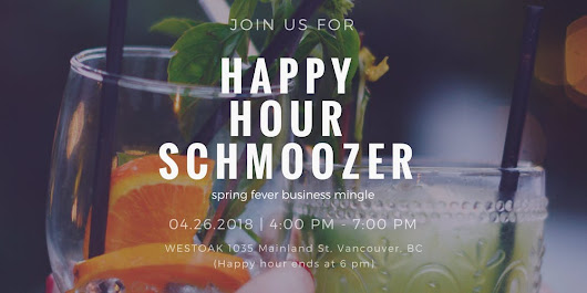 Business Professionals Happy Hour Schmoozer
