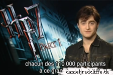 Dan thanks for joining Harry Potter France premiere competition