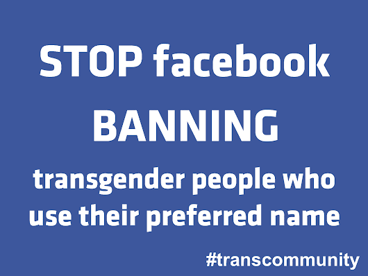 Stop Facebook Banning Transgender People