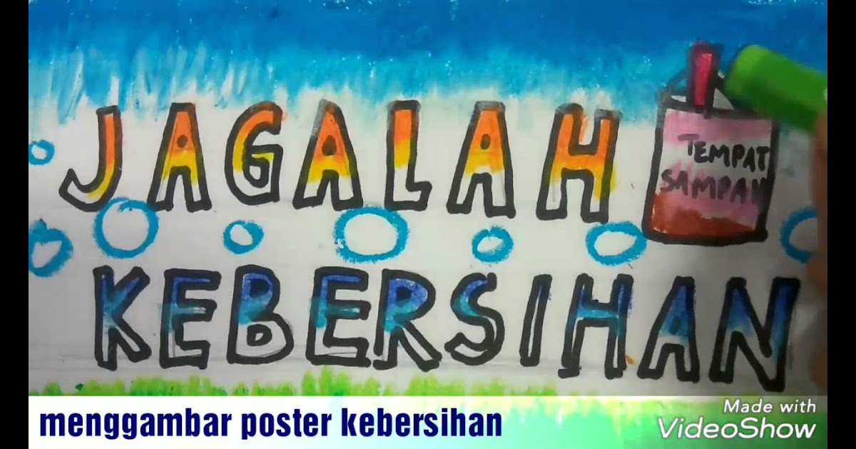 Contoh Poster Untuk Anak Sd Kelas 5 - Contoh Poster Ku