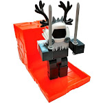 Roblox Series 6 ColdDeveloper Mini Figure [with Orange Cube and Online Code Loose]