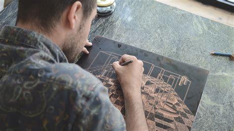 illustrator ugo gattoni created   drypoint