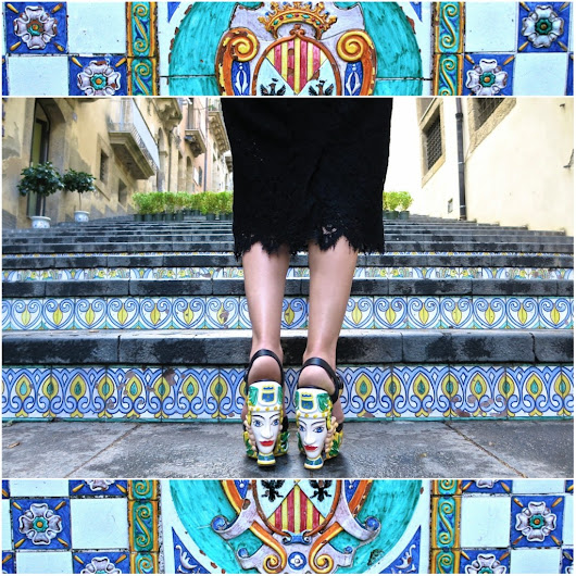 POSTCARDS FROM CALTAGIRONE |