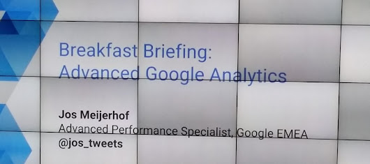 Google Breakfast Briefing: Advanced Analytics -
