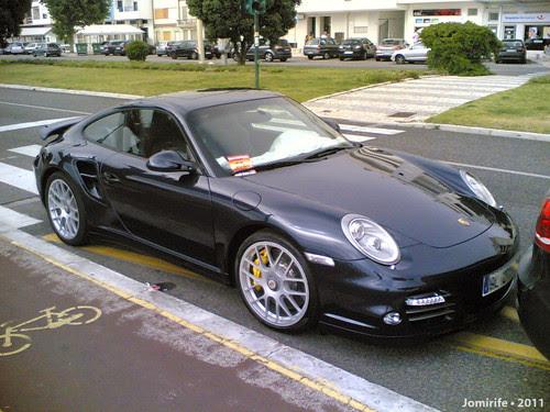 Porsche Turbo S na Figueira da Foz
