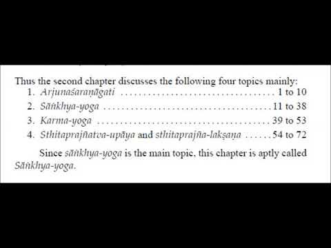 Gita Summary of Chapters 1-14