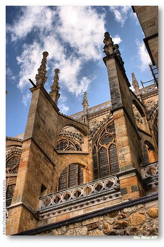 Arcobotantes da catedral de León #2 by VRfoto