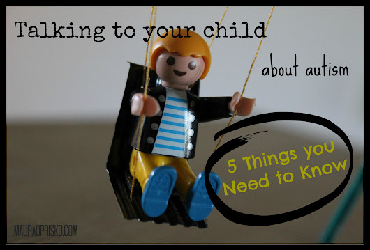 Talking to your child about autism: 5 Things you need to know