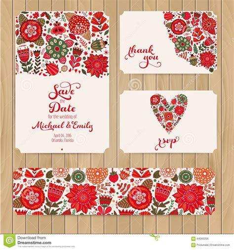 Wedding Invitation Template: Invitation, Envelope, Thank