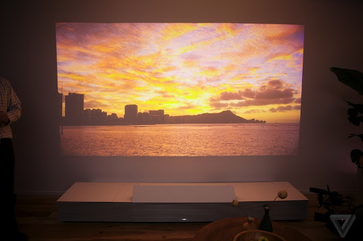 Up close with Sony's futuristic Life Space UX projector