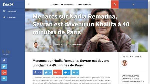 """Résultat de recherche d'images pour """"nadia remadna sevran"""""""
