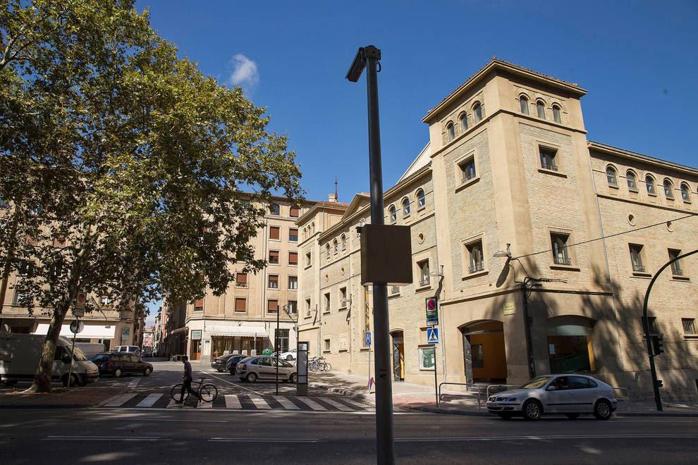 Resultado de imagen de Cámara en la Cuesta de Labrit para los accesos a la calle Dormitalería