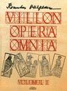 Villon Opera Omnia #1