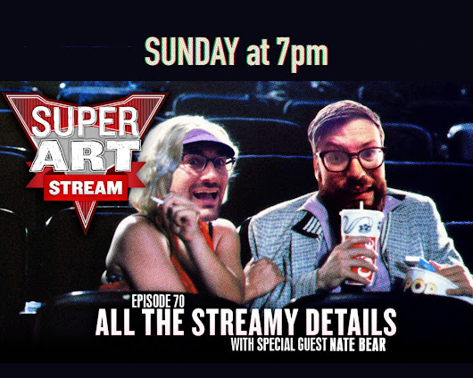 Super Art Fight: Live Stream This Sunday 3/5