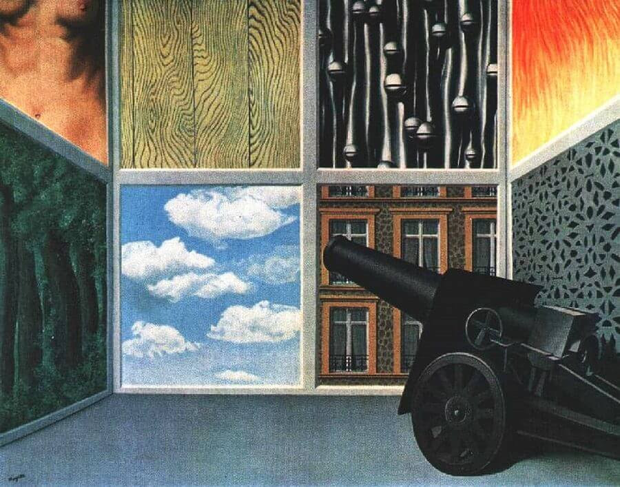 On the Threshold of Liberty, 1937 by Rene Magritte