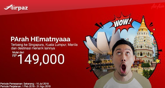 Promo AirAsia Indonesia! Low Fare Madness! - Airpaz Blog -