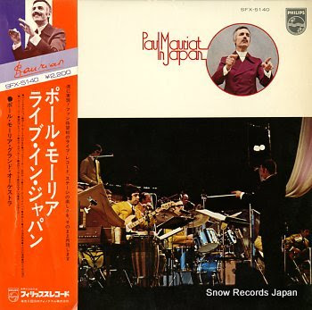 MAURIAT, PAUL paul mauriat in japan