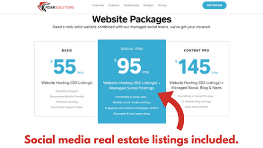 Sharing Real Estate Listings to Facebook and Social Media