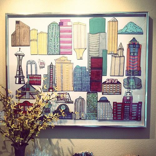 Seattle buildings @ Le Reve